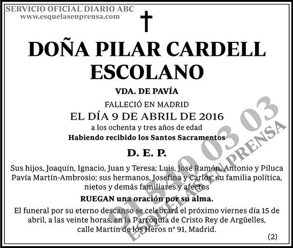 Pilar Cardell Escolano